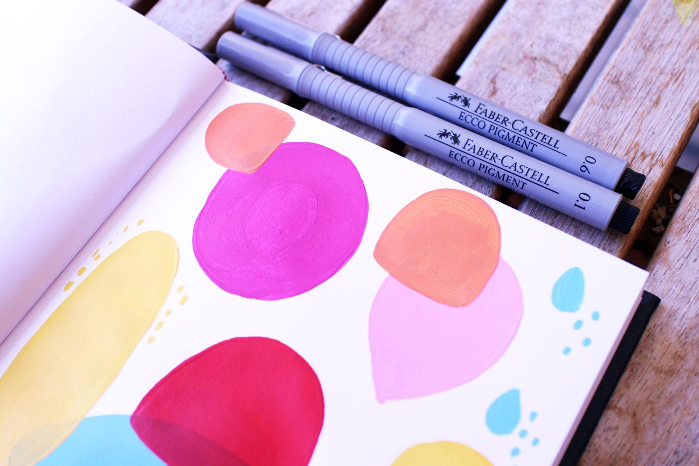 Esercizio creativo: sketchbook di Elena Veronesi