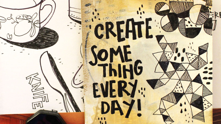 Create something every day!