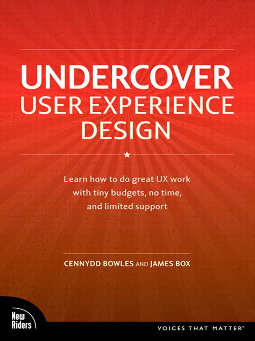 Undercover User Experience Design