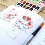 Kalanchoe - Sketchbook di Elena Veronesi