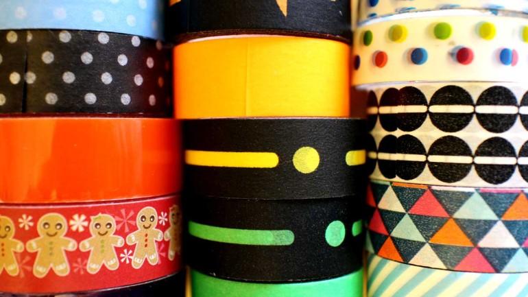 Metti un pomeriggio di pioggia: washi tape e macchinine!